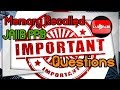 JAIIB Important memory recalled questions principles and practices of banking Part 3