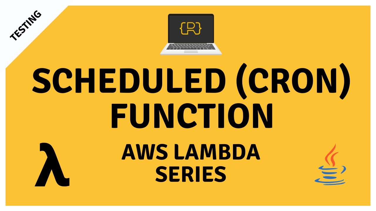 Scheduled (Cron) AWS Lambda Function with Java and Maven