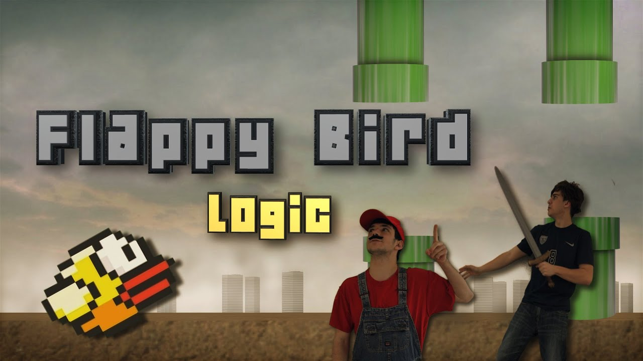 FLAPPY BIRD LOGIC IN REAL LIFE YouTube - Flappy bird in real life