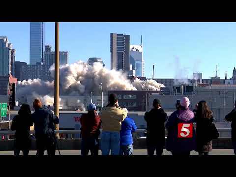 VIDEO: LifeWay Tower Imploded In Downtown Nashville