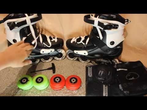 22595f3d063d67 Обзор роликов SEBA FRX 80! - YouTube