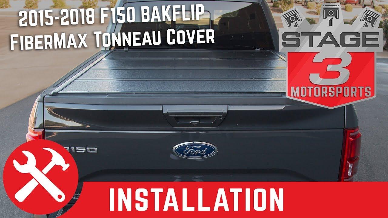 2015 2020 F150 6 5ft Bed Bakflip Fibermax Tonneau Cover 1126327