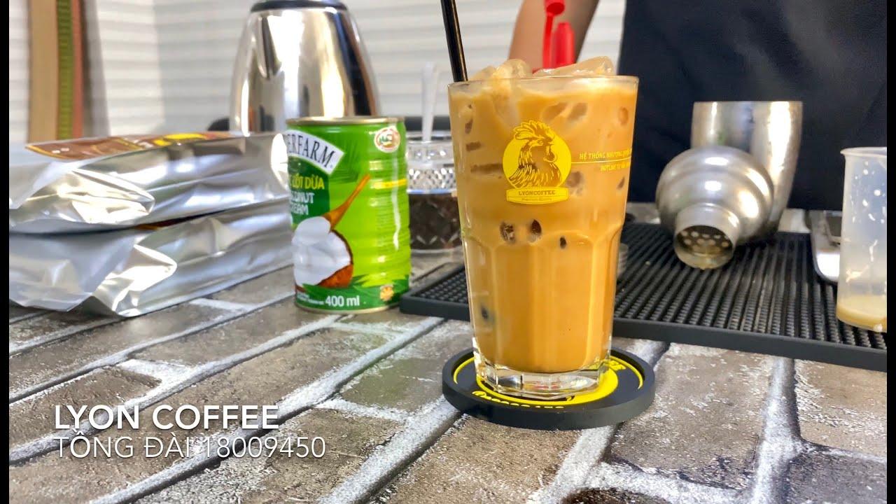 Cách pha cà phê nước cốt dừa | Lyon Coffee 18009450