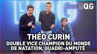 LE QG 33 - LABEEU & GUILLAUME PLEY avec THÉO CURIN (VICE CHAMPION DU MONDE DE NATATION HANDISPORT)