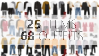 Cold Weather Capsule Wardrobe or What to Wear In Winter