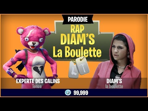 DIAM'S - GÉNÉRATION FORTNITE (Parodie la boulette)