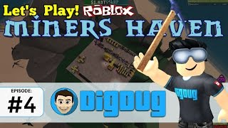 Roblox Miners Haven: Ep 4 : Laying out a new Ore Run!