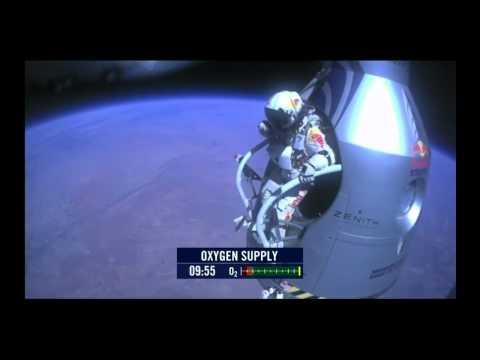 Red Bull Felix Baumgartner Jump