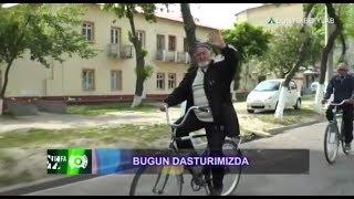 Buxorolik 70 yoshli velosayohatchi otaxon qayerga yetib bordi   Turfa olam [21.04.2018]