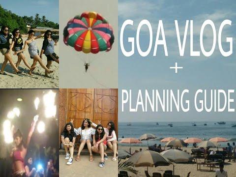GOA VLOG + Planning Trip Guide! | Goa Travel Planner | Goa Trip under 10K | Random Insanity