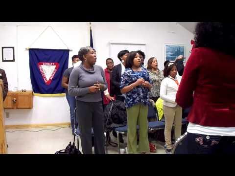 NGBC choir singing Give Glory to God