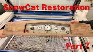 Frandee SnoShu Model E Snowcat Restoration Part  7