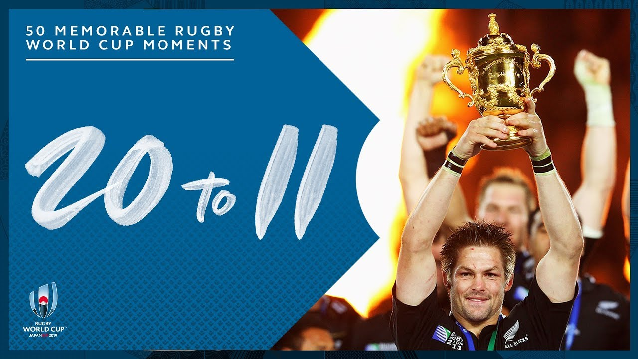 Most Memorable Moments In Rugby World Cup History 20 11 Youtube