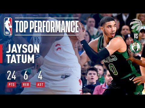 Jayson Tatum Helps Lead Celtics To Victory vs Raptors!