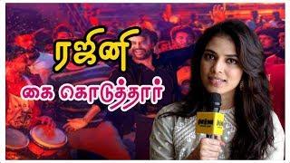 ரஜினி என் நடிப்பை பார்த்து கை கொடுத்தார் | Petta Actress Malavika Mohanan Exclusive Interview