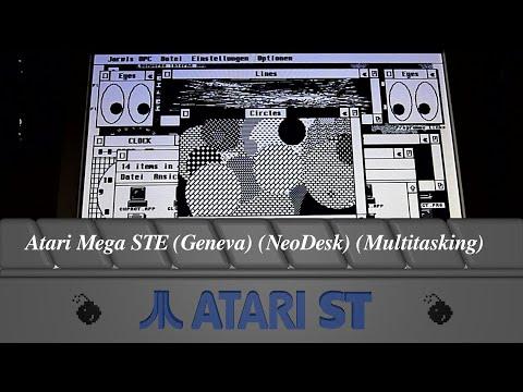 Atari Mega STE (Geneva) (NeoDesk) (Multitasking)