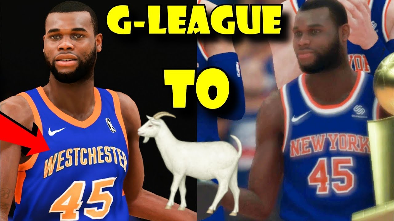 competitive price 32441 a4056 From G-league to GOAT!!! - Kadeem Allen NBA Simulation