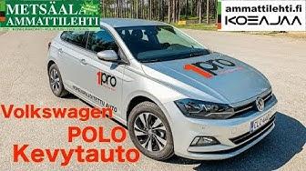 Ammattilehti koeajaa: Volkswagen Polo 1,0 TSI kevytauto