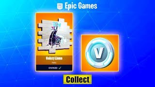 How To Get GALAXY LLAMA SPRAY PAINT + V BUCKS (REAL WAY) Fortnite GALAXY SKIN SET / BUNDLE FREE?