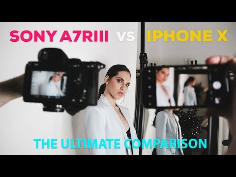 iPhone X vs Sony A7R III Camera Showdown: There's an app for that!