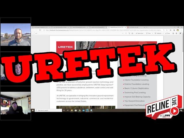 Reline LIVE: URETEK with Ryan Seastrunk and Kyle Olsen