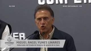 Ya liberamos la Presa Yuribia en Coatzacoalcos. Abrimos las válvulas: Gobernador Yunes