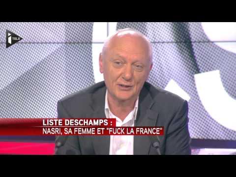 "Nasri, sa femme et ""fuck la france"" - CSD"