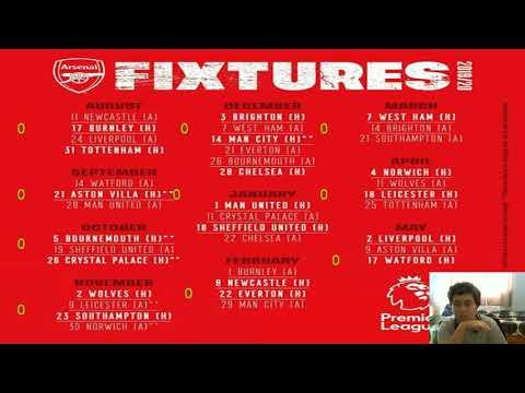 Arsenal Calendario.Yannick Carrasco Calendario Do Arsenal No Ingles
