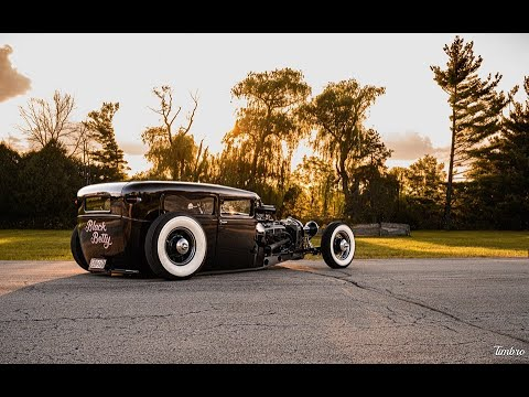 1929 Ford Model A Sedan- Black Betty - Hot Rod