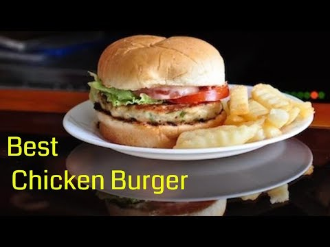 The best and easiest Chicken Burger made in 30 minutes