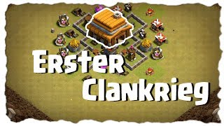 ERSTER CLANKRIEG - RATHAUS 4 SPEEDBUILD | Clash of Clans Deutsch | Let´s Play COC