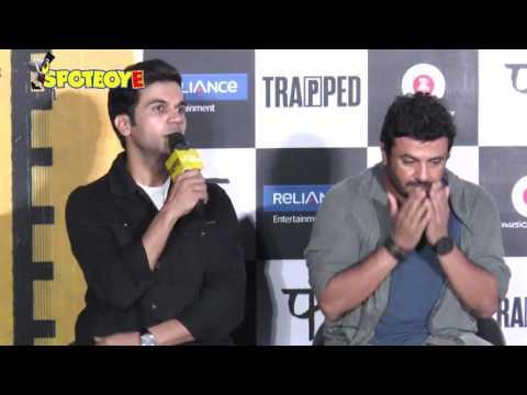 UNCUT- Trapped Trailer Launch Full Event | Rajkummar Rao, Vikramaditya Motwane | SpotboyE