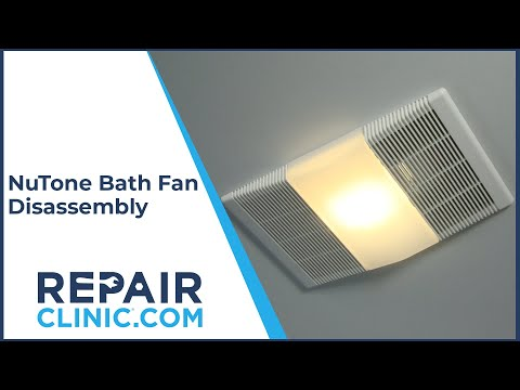 "Thumbnail for video ""Broan/NuTone Bath Fan (765H80L) Disassembly – Bath Fan Repair Help"""