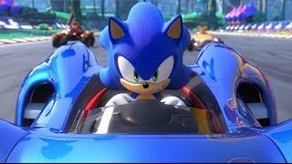 Jogo do Sonic - Team Sonic Racing - Jogo de Carros de corrida com Sonic e seus Amigos