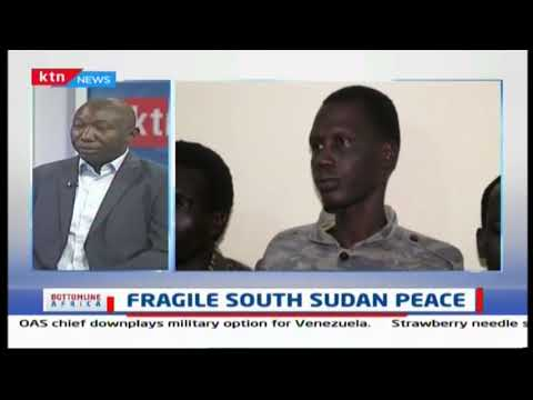 Fragile South Sudan peace | BOTTOMLINE AFRICA