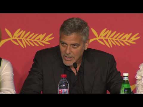 George Clooney Talks Donald Trump at Money Monster Cannes Press Conference