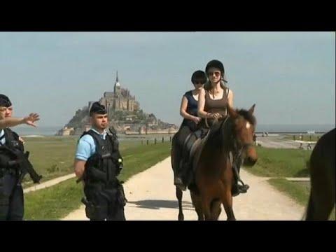euronews (deutsch): Panik am Mont-Saint-Michel in Frankreich