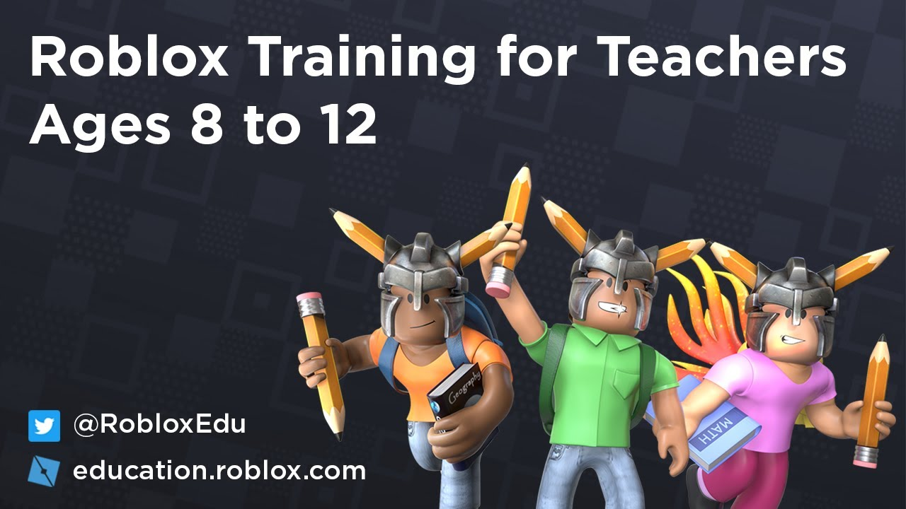 Roblox Education Webinars Roblox Training For Teachers Ages 8