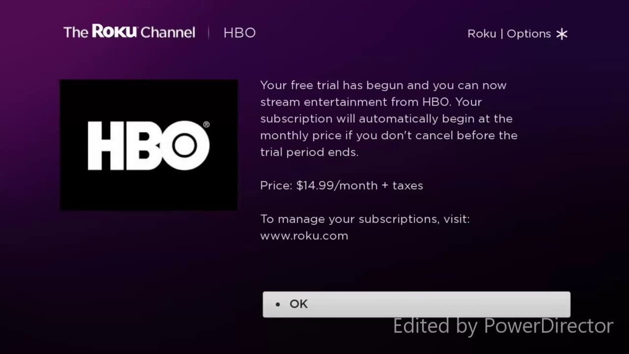 How To Subscribe To HBO On Roku