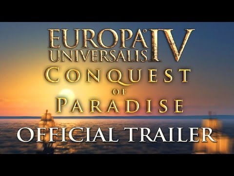 Europa Universalis 4: Conquest of Paradise coming Jan. 14, pre-orders now open