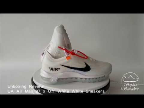 Buy Best Quality UA Nike Air Max 97 Off White Black Sneaker