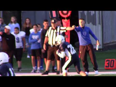 Ryan RJF Junior Football Week#1 vs Wallington 9 9 2017 006 Ryan First Touchdown