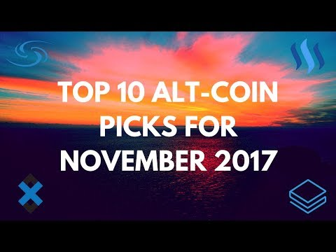 Top 10 Alt-Coins To Invest In For November 2017 | ADX, STRAT, SYS & More!