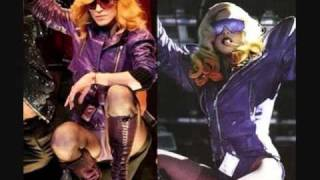 Lady Gaga copia a Marilyn Manson, Madonna, Britney Spears.wmv
