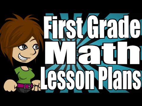 First Grade Math Lesson Plans