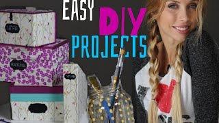 Easy DIY Projects: Своими руками украшение для дома: Организация и Хранение канцелярии в комнате