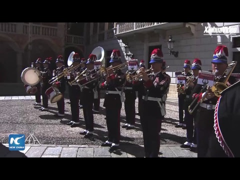 LIVE: President Xi Jinping Attends Welcome Ceremony In Monaco