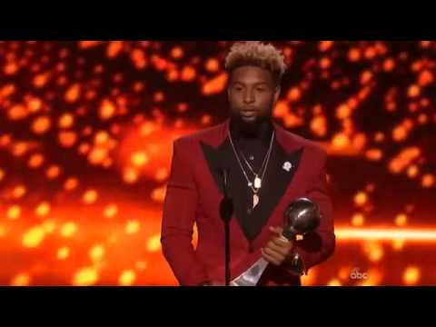 ESPYS 2015 - Odell Beckham Jr Wins Best Play