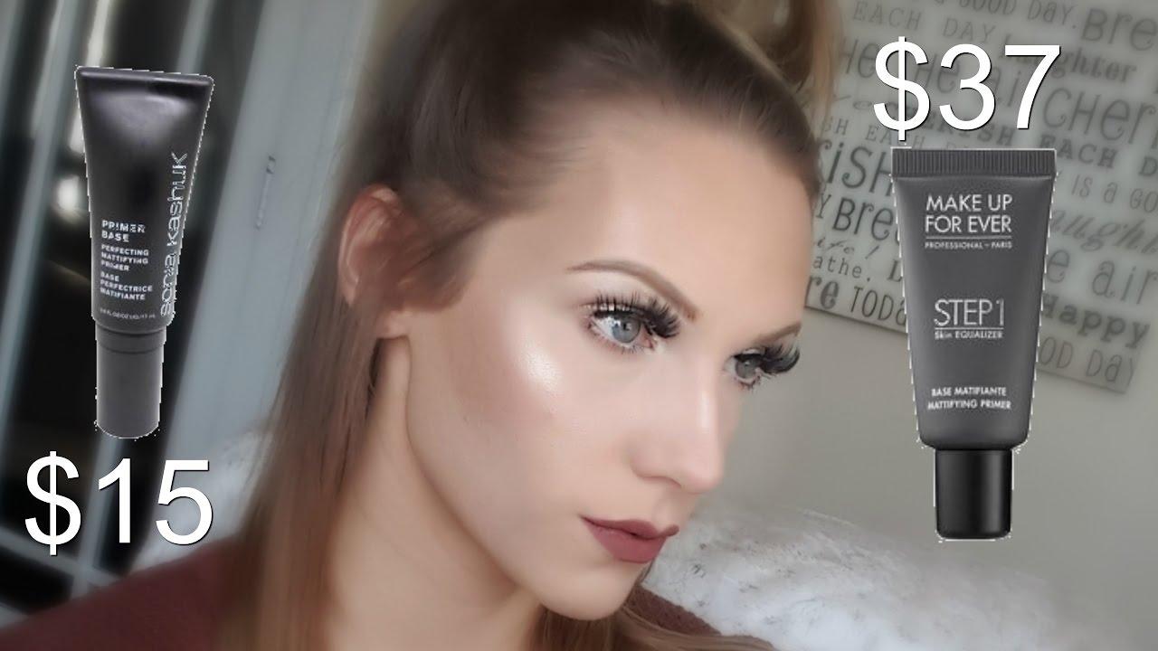 Mattifying Primer Showdown Sonia Kashuk Vs Makeup Forever Youtube