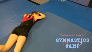 gymnasts try american ninja warrior
